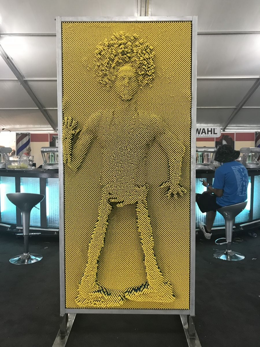 Lifesize Pin Art Wall